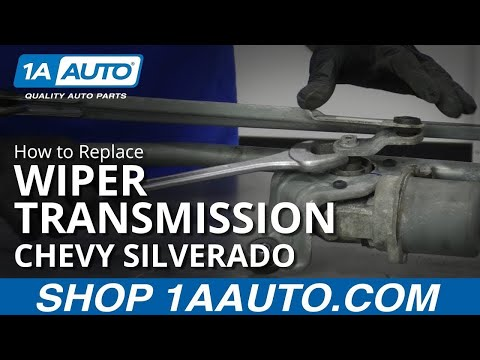 How to Replace Wiper Transmission 07-14 Chevy Silverado