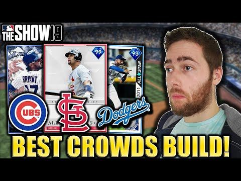 TEAMS WITH THE BEST ATTENDANCE....MLB THE SHOW 19 DIAMOND DYNASTY