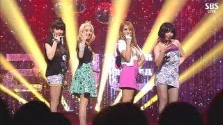 2NE1_0811_SBS Inkigayo_DO YOU LOVE ME