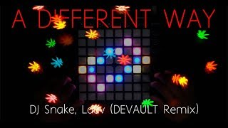 DJ Snake, Lauv - A Different Way (DEVAULT Remix) | Launchpad MK2 Cover