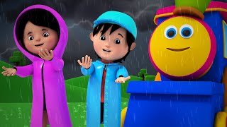 Bob The Train - bob the train | i hear thunder | nursery rhyme | 3d rhymes | kids songs | kids tv