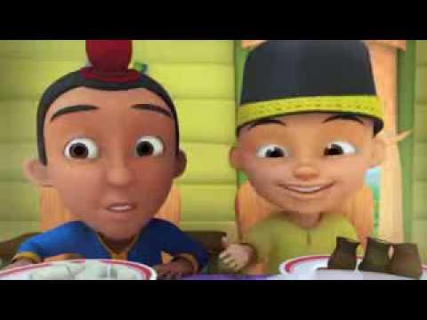 Upin & Ipin - Suasana Hari Raya [Sing-Along][HD] [www.stafaband.co].3gp