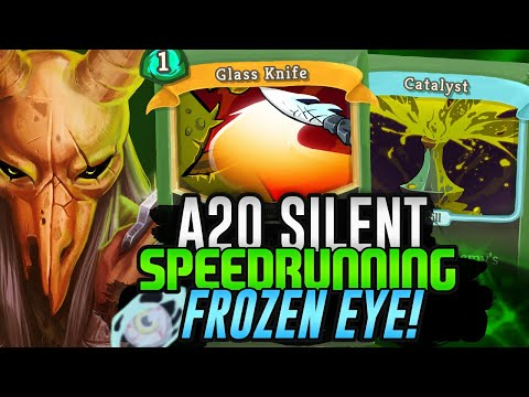 Speedrunning Frozen Eye! | Ascension 20 Silent Run | Slay the Spire