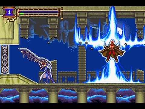 GBA Castlevania - Aria of Sorrow