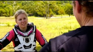 Jacinta is an elite BMX racer and a lover of outdoor adventure, when she's not training for BMX she's out hiking the trails and mountains with her friends and family.