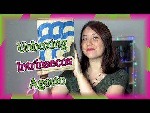 Unboxing Intrinsecos Agosto | Louca dos livros 2019