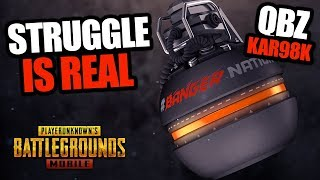 NOT GOING TO WIN THIS GAME - Kar98K / QBZ - PUBG Mobile