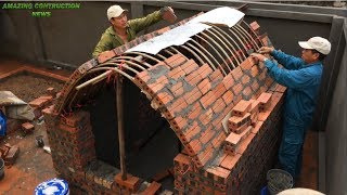 Construction Techniques Creative Brick Dome & With Formwork Structure - Great Construction Skills