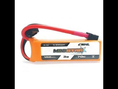 CNHL MiniStar 450mAh 11 1V 3S 70C da Banggood