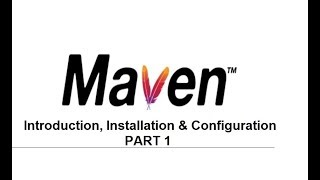 Maven in Telugu part 1 | MAVEN introduction & MAVEN install and configure