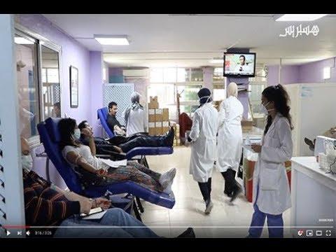 """بعد نقص مخزون الدم بسبب """"أزمة كورونا"""".. مغاربة يسارعون للتبرع لدعم المرضى وإنقاذ الأرواح"""