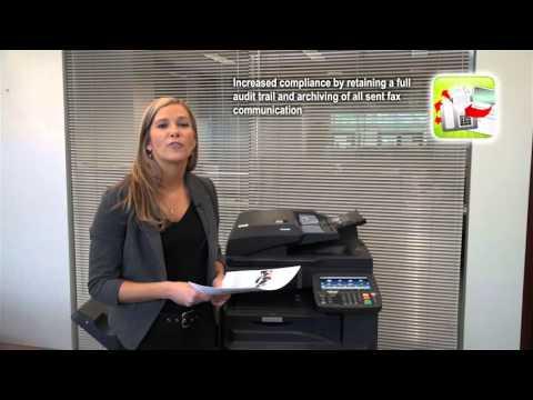 Kyocera AccuSender Fax Instructional Video