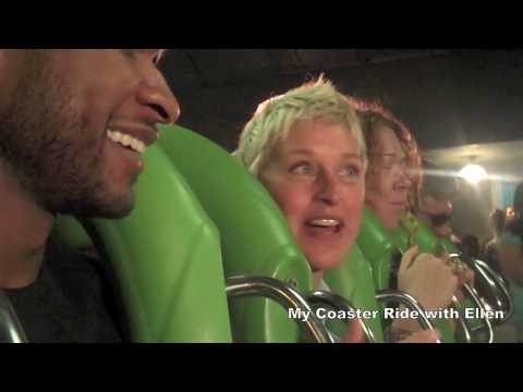 Usher & Ellen take on the Hulk (видео)