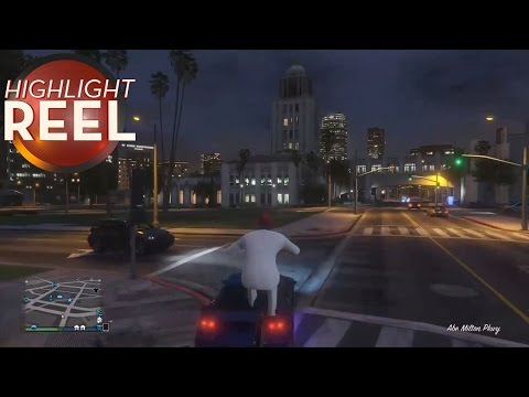 Just A Typical Bike Ride In GTA