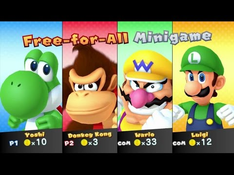 Mario Party 10 Walkthrough Bowser Amiibo Board Amiibo