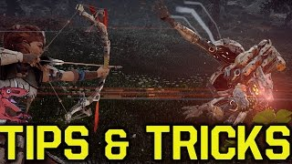 Horizon Zero Dawn Tips & Tricks TO ENHANCE YOUR EXPERIENCE (Horizon Zero Dawn gameplay tips)