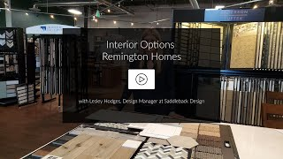 VIDEO | Tour an Interior Design Package for Remington Homes