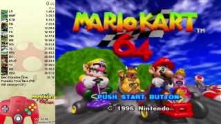 Mario Kart 64 150cc All Cups (No Skips) Speedrun 38:45 (World Record)