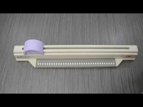 GBC Clickman - Kensington - Encuadernadora de canutillo - Compacta y facil de usar.