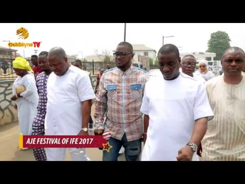 Download K1 DE ULTIMATE PAYS HOMAGE TO AJE FESTIVAL, ILE IFE (Nigerian Music & Entertainment)