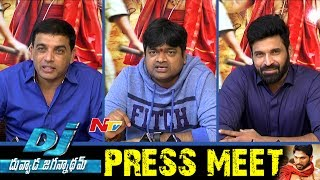 DJ Movie Team Press Meet || Dil Raju, Harish Shankar, Subbaraju