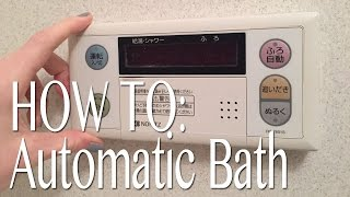 Japanese Automated Bathroom - Bath/Shower/Ofuro