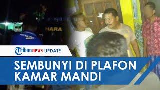 Video Detik-detik Kades di Tulungagung Digerebek di Rumah Wanita, Sembunyi di Plafon Kamar Mand