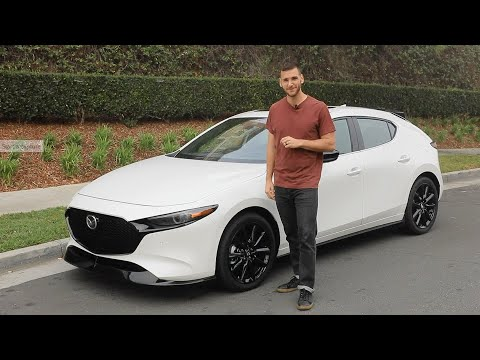 2021 Mazda3 Turbo Test Drive Video Review
