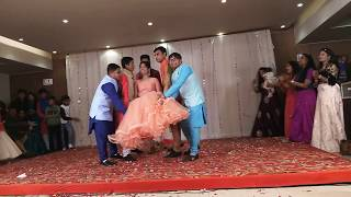 Brother's Surprise Dance In Sister Sangit Sandhya