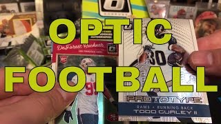 2016 Donruss Optic Football Hobby Box Break - AWESOME BOX!