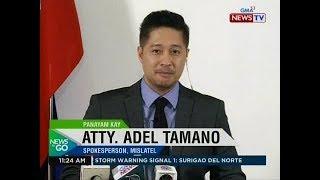 NTG: Panayam kay Atty. Adel Tamano, spokesperson, Mislatel