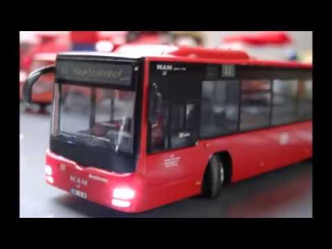 Wiking Control 87 Bus Lion's City Testfahrt