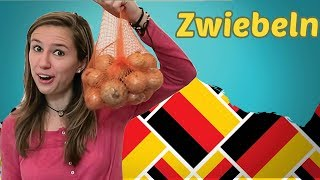 Learn 5 new GERMAN Words per DAY - FOOD (part 1)