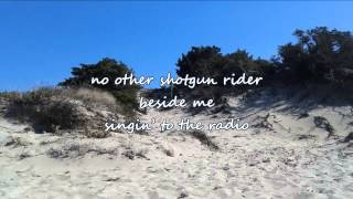 Tim McGraw - Shotgun Rider (with lyrics)