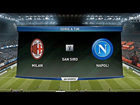 FIFA 19   Ac Milan vs Napoli   Serie A Gameplay  