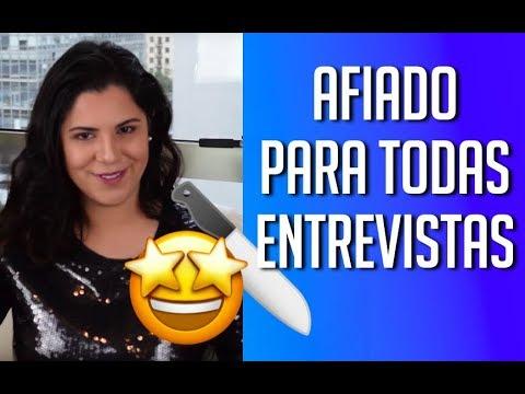 AFIADO EM TODAS AS ENTREVISTAS DE EMPREGO