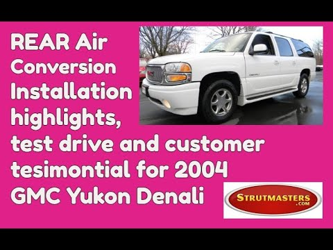 2004 Yukon Denali With An Air Suspension Conversion By Strutmasters / Ride Along