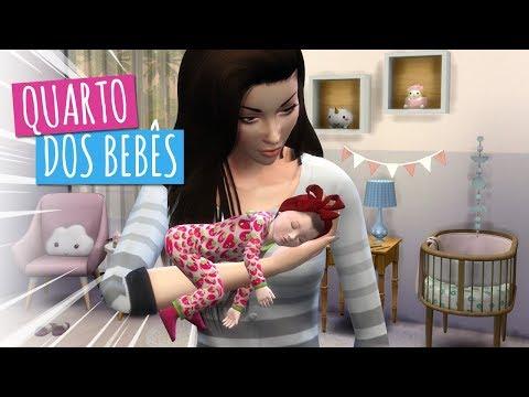 TOUR PELO QUARTO DOS GÊMEOS DA JULIA MINEGIRL - The Sims 4 - Novelinha