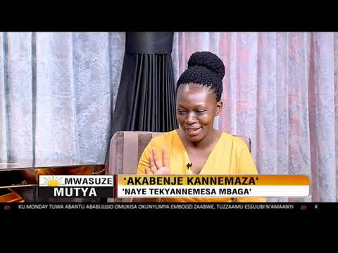 Mwasuze Mutya: Grace Nakawooya yakutuka omukono ng'omukolo gwe gunatera okutuuka