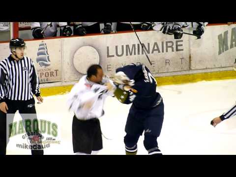 Sean McMorrow vs. Olivier Legault