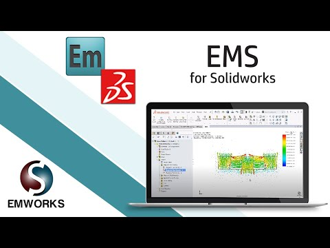 Permanent Magnet Halbach array simulation - EMS for Solidworks
