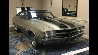 RARE!!! Tri Centennial Gold SS454 LS6 Chevelle Finished.