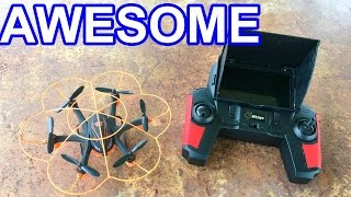 Beginner FPV Drone on a Budget - WLToys Q383-A 5.8 Ghz Quadcopter - TheRcSaylors