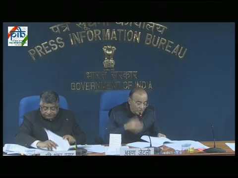 Cabinet Briefing by Union Ministers Shri Ravi Shankar Prasad & Shri Arun Jaitley