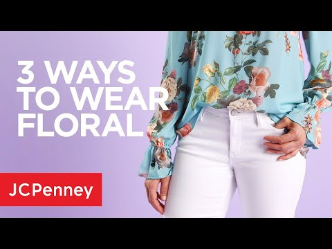0d706dc01 3 Spring Outfit Ideas  Floral Fashion Trend