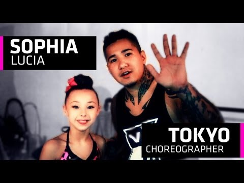 Sophia Lucia Takes Tokyo's Dance Class - Guess who took class?