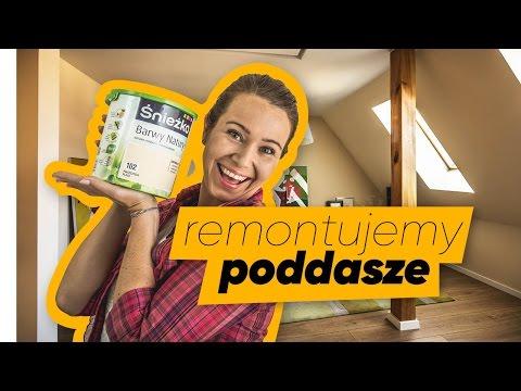 Jak pomalować ściany w pomieszczeniu na poddaszu - ABC remontu - zdjęcie