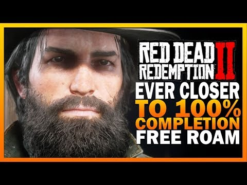 Ever Closer To 100% Completion - Red Dead Redemption 2 Free Roam
