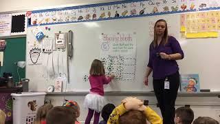 Kindergarten Rhyming Lesson