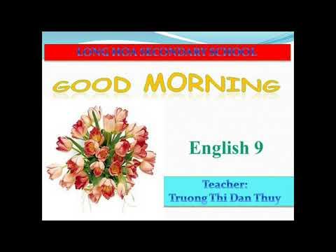 Anh văn 9:UNIT 8: LESSON: LANGUAGE FOCUS 1, 3, 4